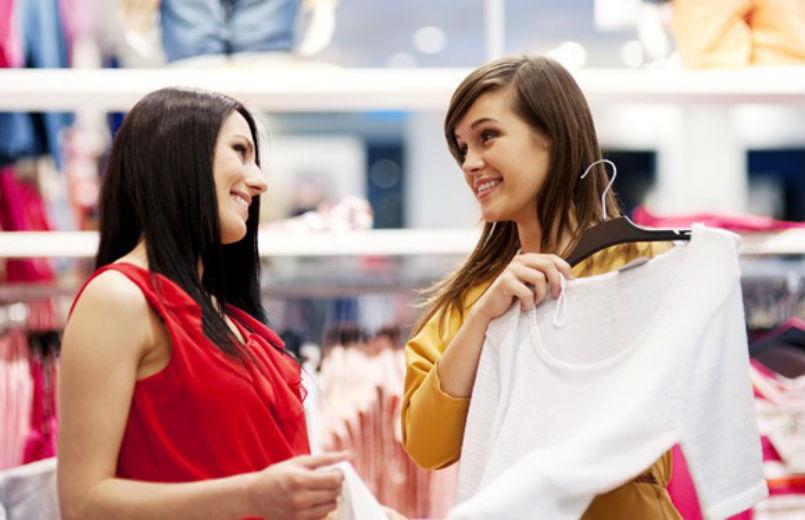 mulheres em loja