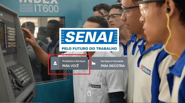 Como fazer inscrição Senai PA Cursos 2021?