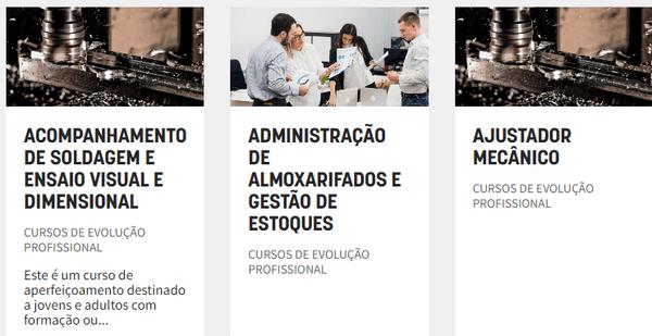 Como fazer a inscrição online do Senai RS