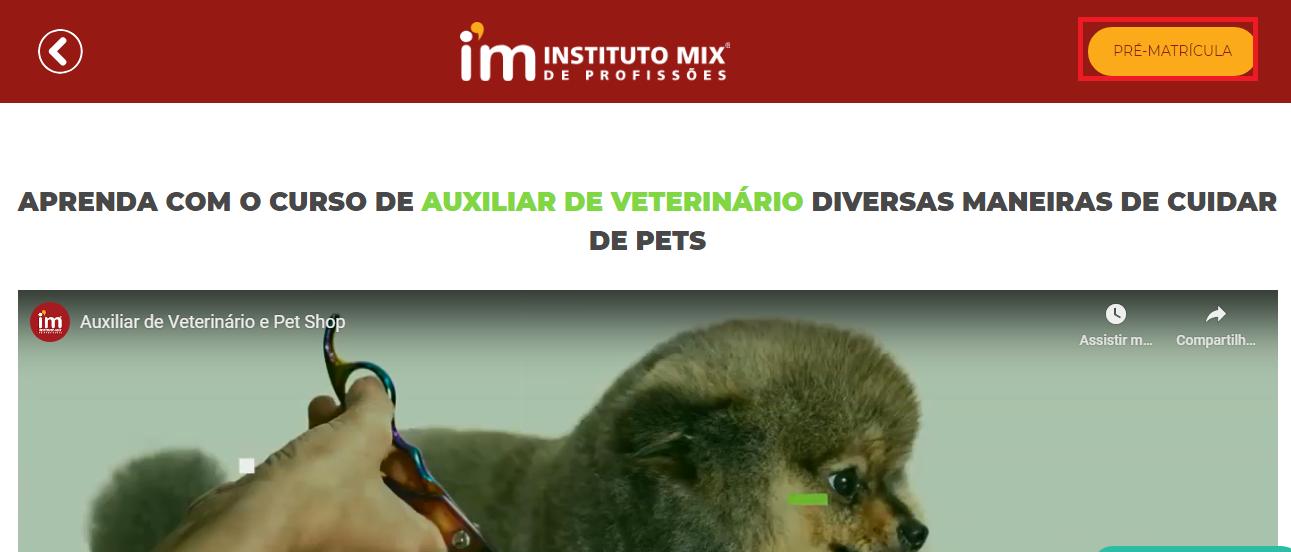 Instituto Mix Pré Matrícula