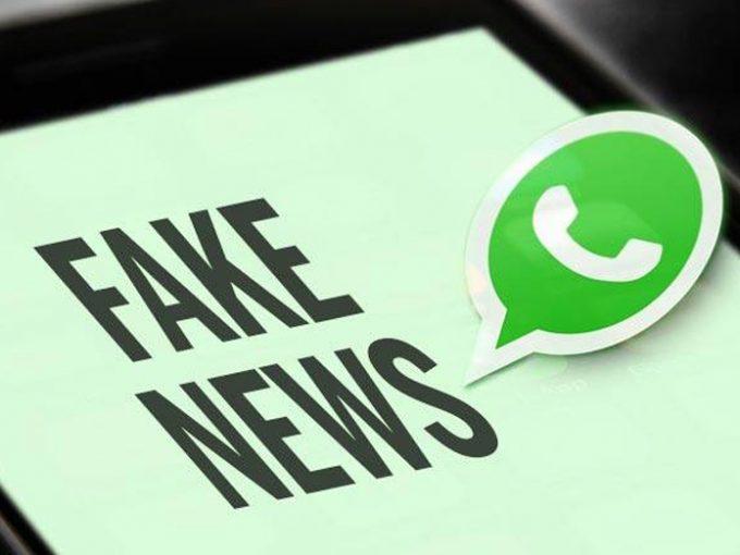 Fakenews pelo Whatsapp