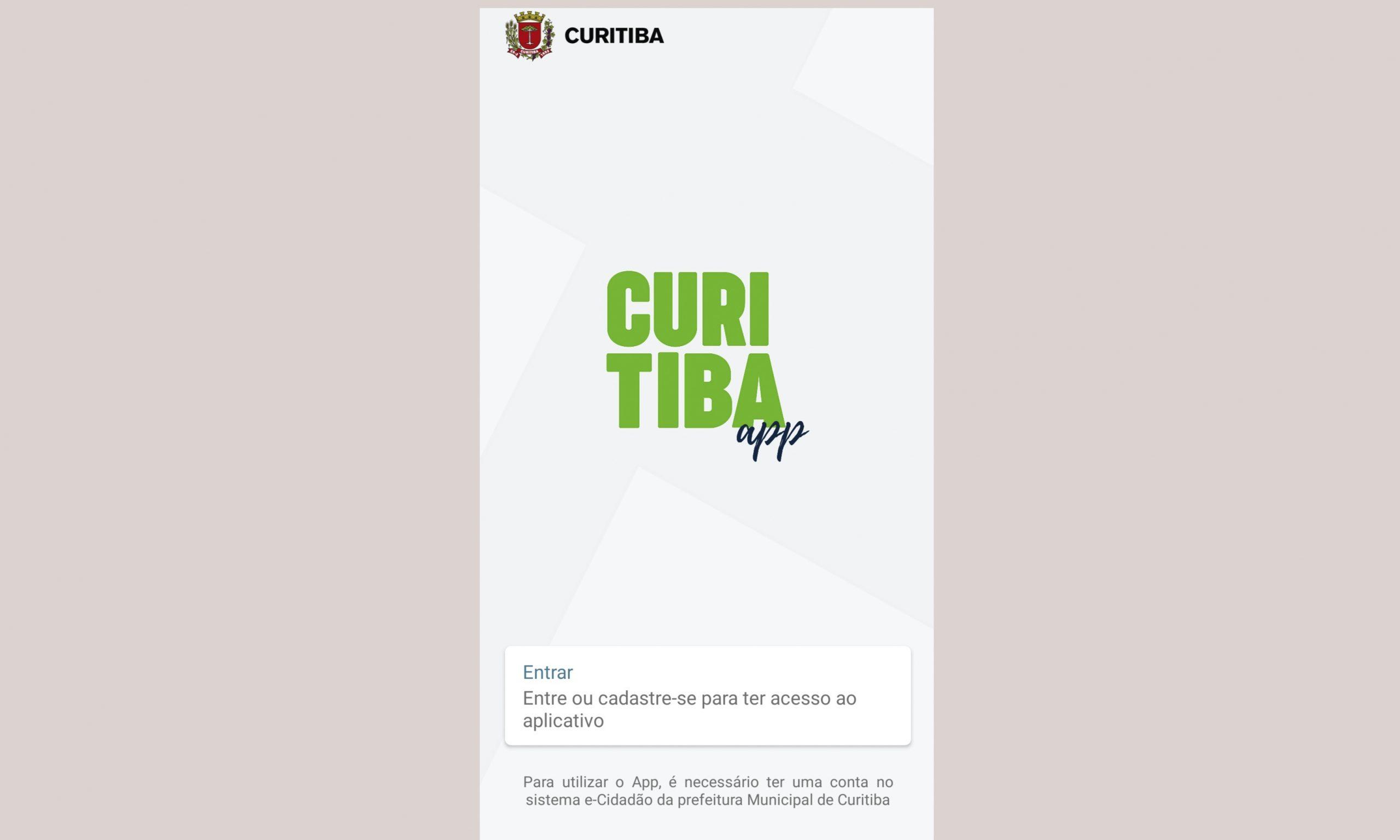 Como pagar IPTU no Curitiba APP