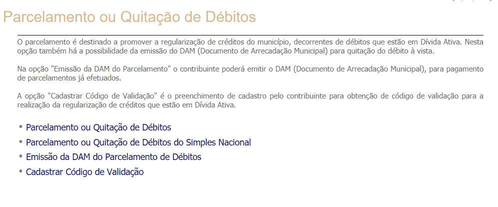 Quitação de Débitos IPTU Curitiba